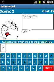 Meme Word - game meme word challenge android apps games android forums