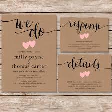 kraft paper wedding invitations lovely vintage kraft paper wedding invitations vintage wedding ideas