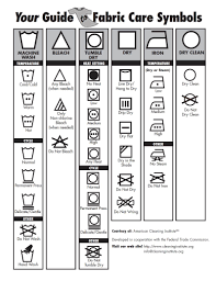 your guide to fabric care symbols clean living american