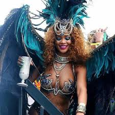 carnival costumes rihanna turns heads in revealing barbados carnival costume