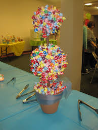 Baby Shower Decoration Ideas Pinterest by Candy Topiary What A Great Idea For A Childs Birthday Or Baby