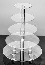5 tier cake stand jusalpha large 5 tier acrylic cake stand cupcake stand dessert