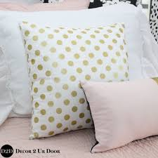 your own dorm room square pillow cover