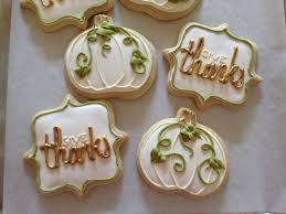 nashville white pumpkin thanksgiving sugar cookies