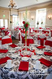 interior design simple red rose themed wedding decorations