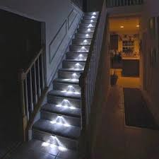 indoor stair lighting ideas staircase lighting ideas open riser staircase lighting indoor