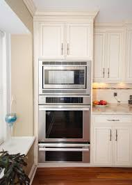 Small Galley Kitchen With Peninsula Double Oven Kitchen Design Remarkable With Galley Peninsula