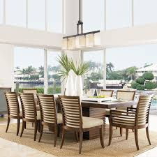 ocean club peninsula dining set lexington dining room furniture