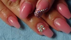 acrylic nails ballerina gel nails filing