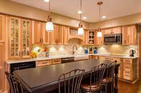 denver hickory kitchen cabinets kitchen decoration
