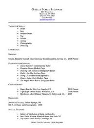 Ballet Resume Sample by Rn Resume Samples Http Exampleresumecv Org Rn Resume Samples