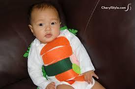 Halloween Sushi Costume Adorable Diy Sushi Halloween Baby Costume Everyday Dishes