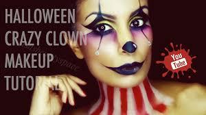 halloween cartoon makeup trucco halloween clown halloween crazy clown makeup tutorial