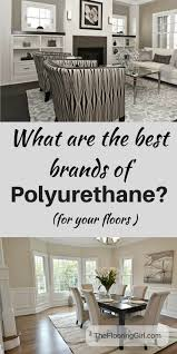 which are the best brands of polyurethane for floors refinish