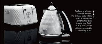 De Longhi Kettle And Toaster Délonghi Déclub Newsletter November 2011