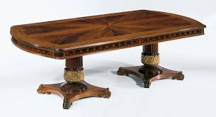 high end dining room tables regency style high end dining table