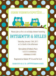 owl themed baby shower invitation theruntime com