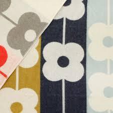 orla kiely throw abacus flower spring magpie poundbury