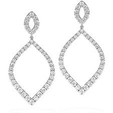 dimond drop provocative diamond drop earrings