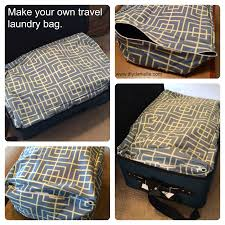 sew a laundry bag for traveling that fits perfectly in your