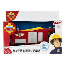 fireman sam large friction action vehicles figures jupiter rv