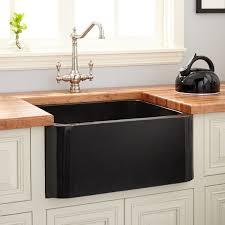 Granite Single Bowl Kitchen Sink 24 Polished Granite Farmhouse Sink Black Kitchen