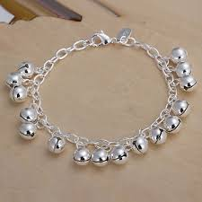 s day charm bracelet aliexpress buy brand jewelry silver plated with bell