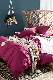 purple duvet covers boho u0026 linen duvet covers anthropologie