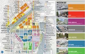 San Francisco Bay Map by Map Of Mission Bay San Francisco Michigan Map