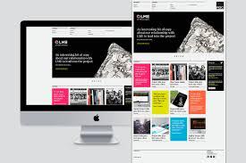 website homepage design my little danger u2014 roc design