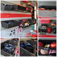 a fun organized garage just a and her blog