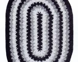 Crochet Oval Rag Rug Pattern Crochet Rug Etsy