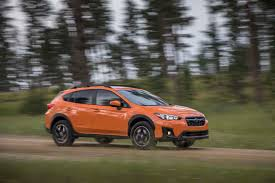 small subaru hatchback 2018 subaru crosstrek first drive review automobile magazine