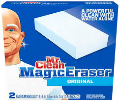 Mr Clean Bathroom Cleaner Mr Clean Magic Eraser Household Cleaning Pads 2 Ct Box Hy Vee