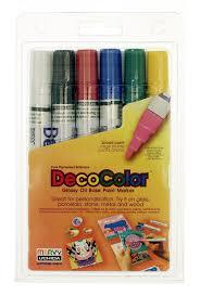 amazon com uchida 300 6a 6 piece decocolor broad point paint