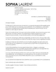 lettre de motivation femme de chambre hotel échantillons de lettre de motivation de résumé d hôtel emploi