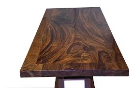 Wood Table Base by Devos Custom Woodworking Custom Contemporary Eclectic Tables