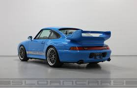 ruf porsche 993 1997 porsche 993 turbo rs riviera blue 21 325 miles sloan cars