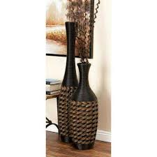 Rattan Vases Tulip Vases Vases U0026 Decorative Bottles The Home Depot