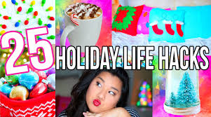 25 holiday life hacks diys you have to try youtube
