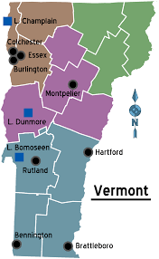 State Of Vermont Map by Vermont U2013 Travel Guide At Wikivoyage