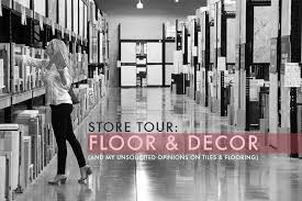 tile floor and decor store tour floor decor emily henderson