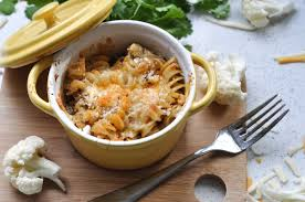 baked mac and cheese with cauliflower suburble