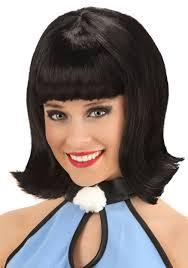 betty rubble wig flintstones halloween costume wigs