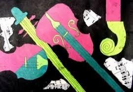 musical medley u2026music art collage musical instruments negative
