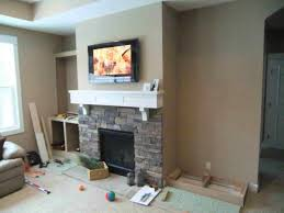 High Fireplace Side And High Heels Feature Project Holly Brianus