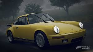 porsche yellow bird forza horizon 2 1987 ruf ctr yellowbird gameplay hd youtube