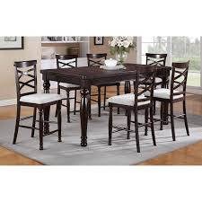 steve silver 9 piece antonio counter height dining table set with