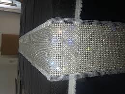 Pearl Home Decor Denim And Diamonds Table Setting Image Pearl Diamond Table
