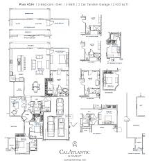 Mattamy Homes Floor Plans by Anitole Plan 4524 Eastmark